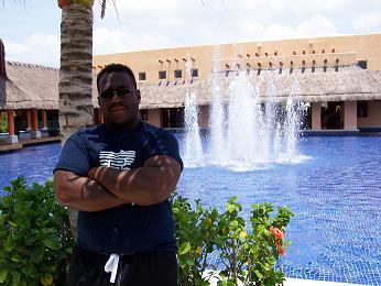 Kevin in Cancun